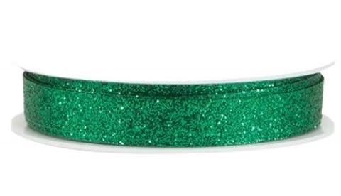 The Gift Wrap Company 3/8-Inch Razzle Dazzle Banding Ribbon, Malachite (19046-08) (Razzle Dazzle Glitter)