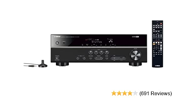 Yamaha RX-V377 5 1-Channel A/V Home Theater Receiver