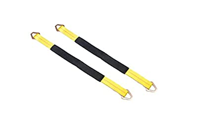 "TGL 2-Pack of 2"", 36"" Axle Straps 10,000 Pound Capacity"