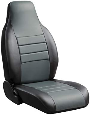 Gray Fia TR49-23 GRAY Custom Fit Front Seat Cover Split Seat 40//20//40 Saddle Blanket,