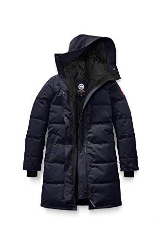 Canada Goose Women's Shelburne Parka Coat, Non-Fur (X-Small, Admiral Blue)