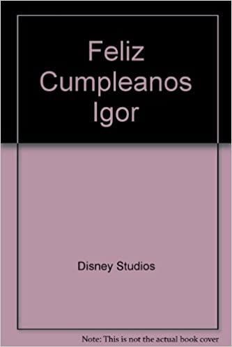 Amazon.com: Feliz Cumpleanos Igor (Spanish Edition ...
