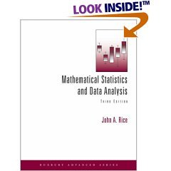 Mathematical Statistics and Data Analysis with CD Data Sets 3rd Edition