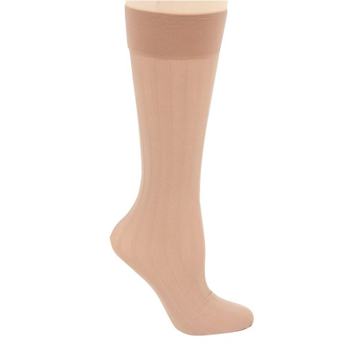 Berkshire Trend Rib Opaque Trouser Socks - Sandalfoot (Berkshire Rib)