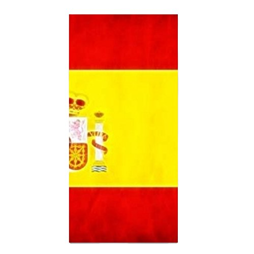 Spain Flag Printed Kitchen Towel Extra Absorbent Personalized Gift- For Bathroom/Kitchen by SALW