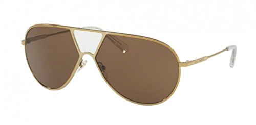 Tory Burch TY6050 Sunglasses 318673-62 - Crystal-Gold Frame, Brown - Tory Retailers Burch