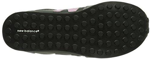 New Balance KL410 M Unisex-Kinder Sneakers Grau (DPY GREY/PINK)
