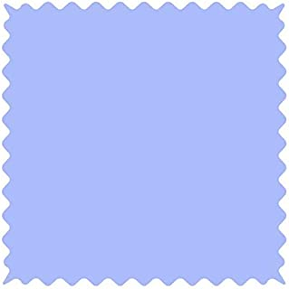 product image for SheetWorld 100% Cotton Percale Fabric by The Yard, Solid Blue Woven, 36 x 44