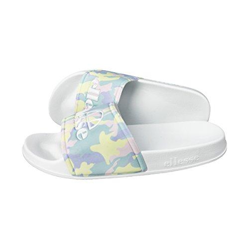 ellesse Damen Slides Fillipo SGFW0350 Camo/White