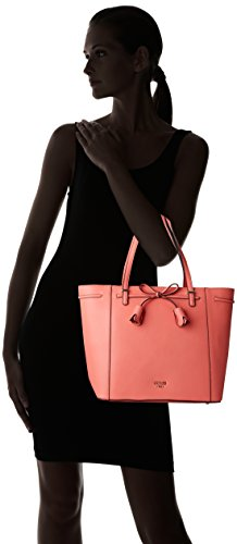 Coral Mujer y bolsos Hobo Naranja Bags hombro Shoppers GUESS de qZwz0w1