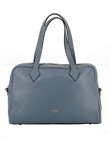 Al111a002166 Borsa Avenue Pelle 67 Donna Shopping Azzurro 16wa0Iq8