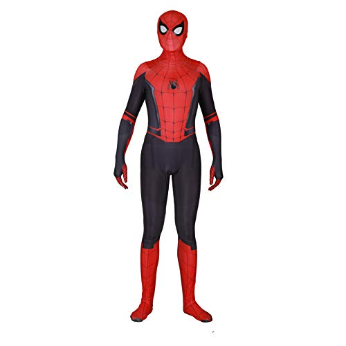 Spider Man Costume,Spider Man Far from Home Suit Cosplay for Men Boys Kid Size 5/6]()