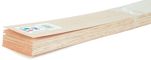 Midwest Balsa Wood Strips 3/32 x 6 x 36 in. (10 pieces)