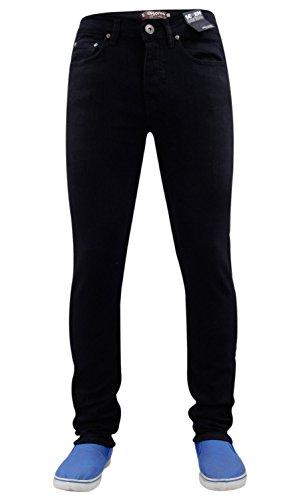 Seven nbsp;– Elasticizzati Series Black Dritti Uomo Designer Aderenti nbsp;jeans 7 Da rwrUtB