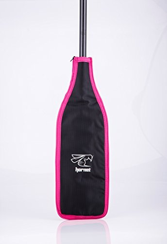 Blade Cover for Dragon Boat Paddle (Black/Pink/Silver)