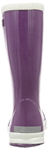 Bergstein  BN RainbootPU, Bottes en caoutchouc de hauteur moyenne, doublure froide mixte enfant - Violet - Violet, 34