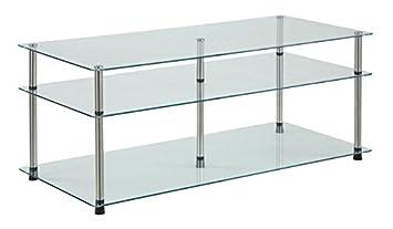 Convenience Concepts Designs2Go 3-Tier Coffee Table