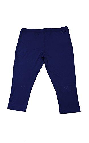 Pant large Donna Capri Tight Da Pantalone Blu Running Nike x AwqC7RYn