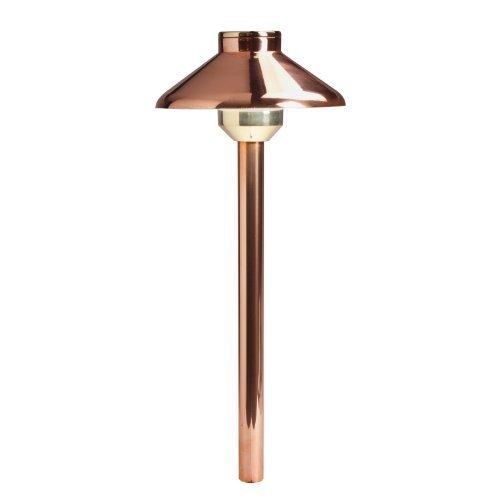 Kichler Lighting 15820CO27 Llena 4W 2700K Design Pro LED 12V Path & Spread Landscape Fixture, Copper Finish by Kichler (Spread Landscape Fixture)