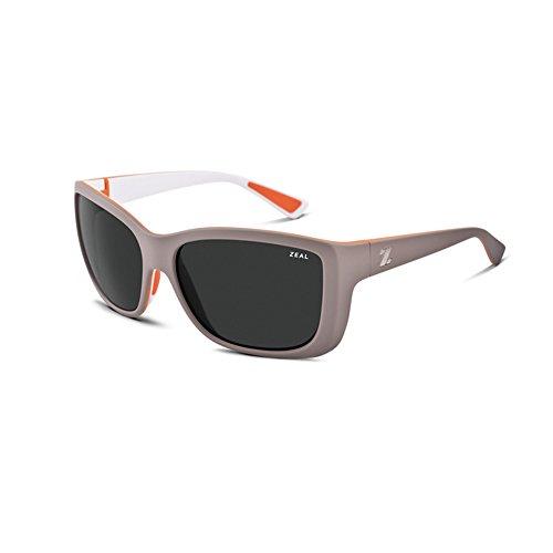 Zeal Optics Unisex Idyllwild Powdered Peach W/Polarized Dark Grey Lens - Warranty Zeal Sunglasses