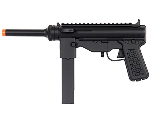 UK ARMS M302F Spring Airsoft Pistol Uzi Gun - Negro