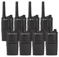 8 Pack of Motorola RMM2050 Two way Radio Walkie Talkies