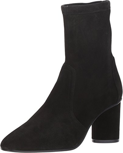 Stuart Weitzman Women's Margot 75 Black Suede 8 M US