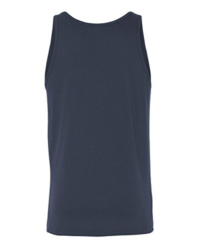 The Unisex Jersey Tank (Navy) (2X-Large)