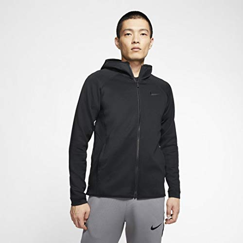 Nike Mens Therma Flex Showtime Hoodie Full Zip Mens AT3263-010 Size M (Flex Fit Zip Hoodie Full)