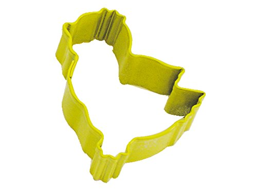 Bulk Lot of 12 CybrTrayd R/&M Chick Durable Cookie Cutter Yellow Mini