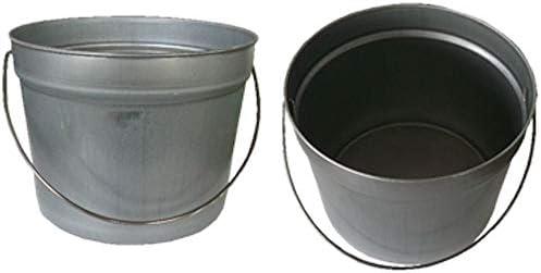 ペール缶付き黄柄ニス用ハケ30mm巾5本(作業手袋付き)通常便