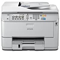 WorkForce Pro WF-M5690 DWF Mono Inkjet MFP Print Scan Copy Fax 35ppm Direct scan-to-print without PC Direct print from USB 1 200 x 2 400 dpi 250 Sheets Standard 580 Sheets maximum.