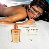 MAGAZINE ADVERTISEMENT For Chrisitian Dior Dune Fragrance With Rhea Durham
