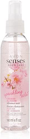 AVON SENSES BODY CARE SPARKLING CHERRY BLOSSOM OIL SPRAY