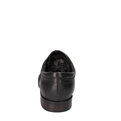 Crime - Zapatos de cordones de Piel para hombre negro negro
