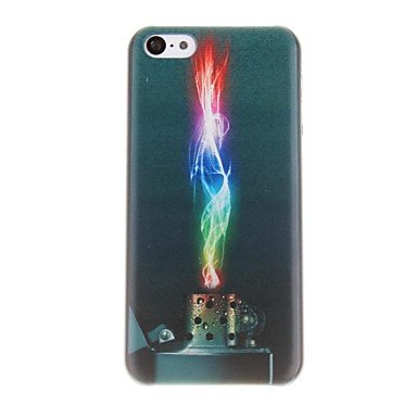 PTMShop @PTMShop @Colourful Lighter Pattern PC Hard Case for iPhone 5C
