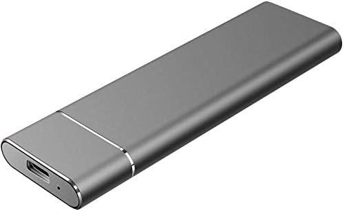 Externe Festplatte, 2 TB, tragbar, für PC, Mac, Laptop, PS4 und Desktop-Laptops Schwarz 2 TB