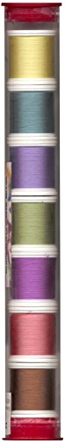 (YLI 20210-PC1 100wt Romance Collection 1 Silk Sampler Thread, 200m )