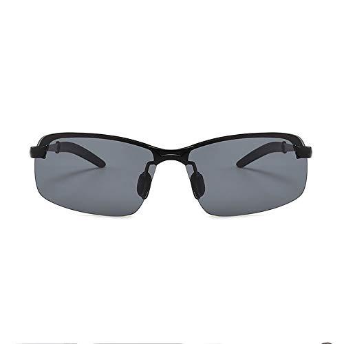 Aili Black Marco Sol UV400 Metal 100 Ultraligero De Hombre De Irrompible Gafas Black Polarizadas Y para Deportivas con HaHBrqw
