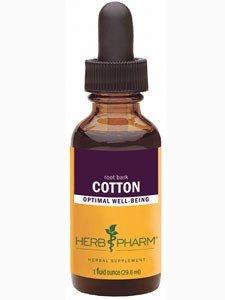 Bark Extract Root Cotton (Cotton Root Bark Extract Herb Pharm 1 oz Liquid)