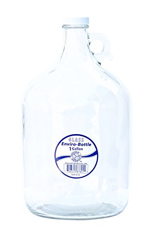- New Wave Enviro Products Glass Bottle, Clear, 1-Gallon