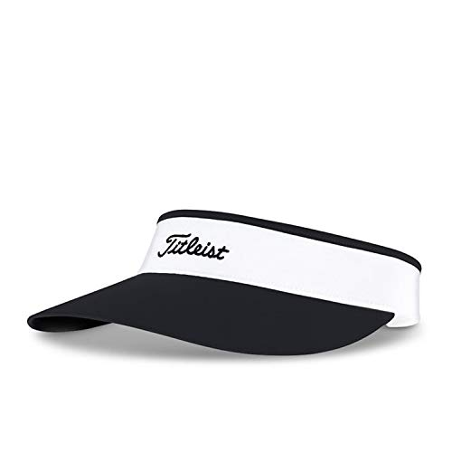 - Titleist Women's Golf Hats (Tour Visor, Tour Performance Cap) (Women's Sundrop Visor, Black/White)