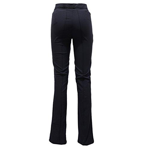 7639v Blue Blu Custo Pantalone Trouser Line Fit Slim Donna Woman pF7vWO4