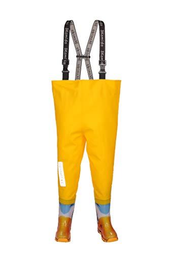 Modelli Vita Nexus Pesca Regolabile Waders Bambini Fibbia Trampolieri 20 10 Per Salopette Bretelle Da 3kamido Stivali Eu Fixlock Anatre 35 Resistenti Giovanili Giallo Pesca 07YX4R