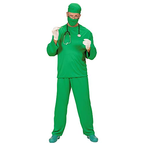 Mens Surgeon Costume Medium Uk 40/42