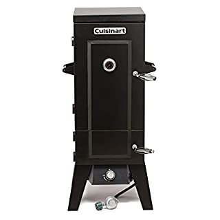 "Cuisinart COS-244 Vertical 36"" Propane Smoker, Black"