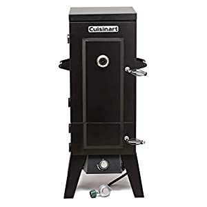 "Cuisinart COS-244 Vertical 36"" Propane Smoker, Black"