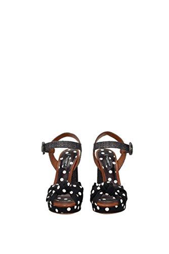Sandaler Dolce & Gabbana Kvinder - Bomuld (cr0241ag369) Eu Sort OHLDFD