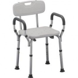 Lumex Platinum Collection Bath Seat with Arms-W/ARMS - Case of 4
