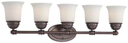 (Thomas Lighting SL714515 Bella Bath Light, Oiled Bronze)